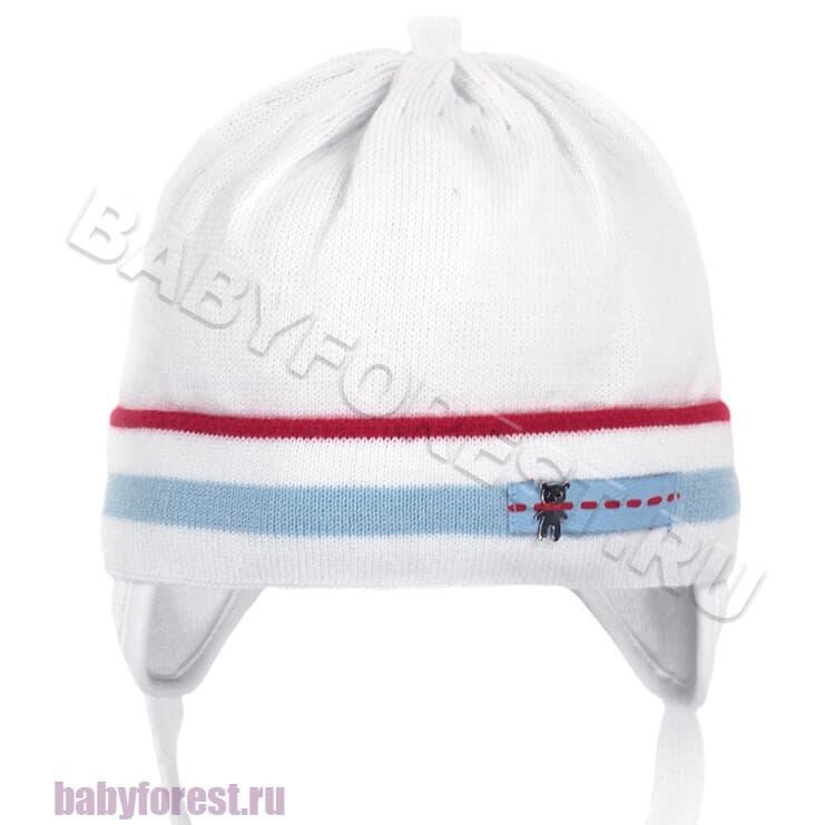 шапка вязаная для новорожденного мальчика купить интернет магазин