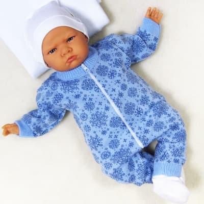 вязаные комбинезоны для новорожденных купить недорого