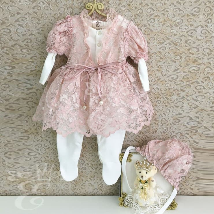 50984fefd07 Платье на выписку из роддома для девочки купить - интернет-магазин ...
